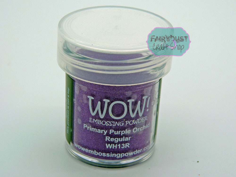 WOW Embossing Powders - Multiple Colours - Buy any 6/12 get a FREE carry case!